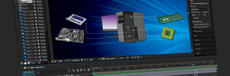 如何使 Adobe After Effects 更快速地跑圖