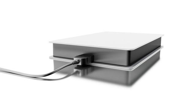 一台外接式硬碟