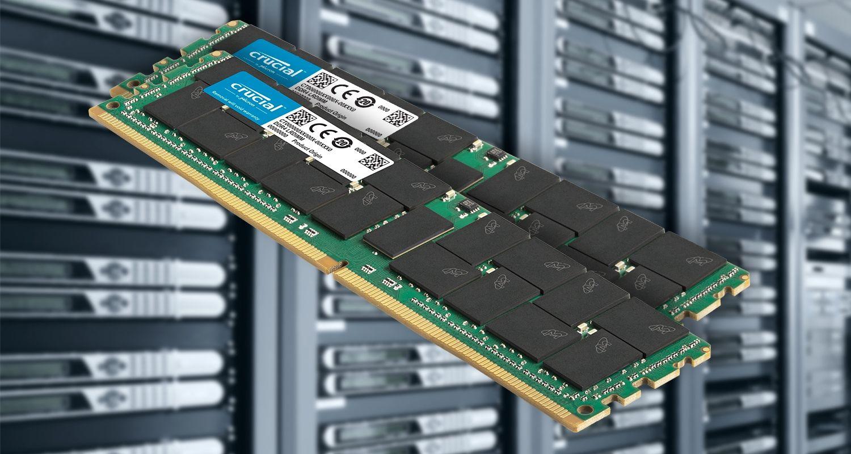 伺服器與 Crucial 伺服器記憶體。