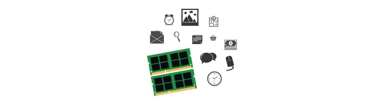 電腦零件與社群圖示