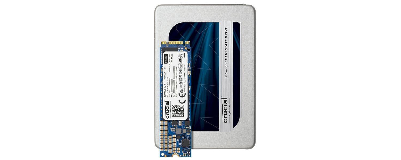 Crucial MX300 SSD 家族