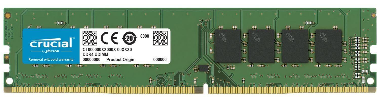 Crucial DDR4 UDIMM RAM 記憶體模組