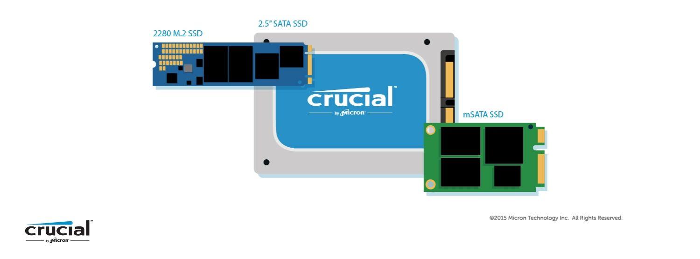 SSD 三種不同外型規格的插圖