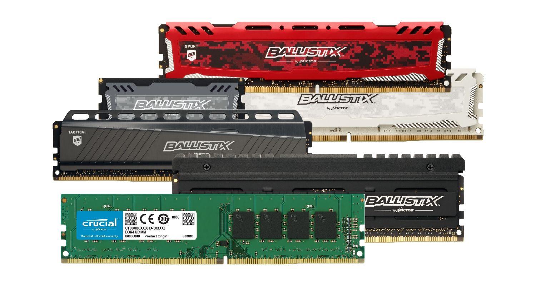 Crucial 電競記憶體(RAM)。
